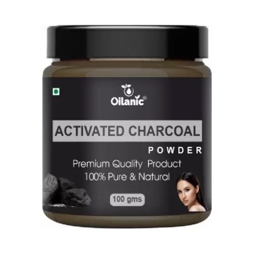 Oilanic 100% Pure & Natural Activated Powder- For Skin & Hair (100gm)