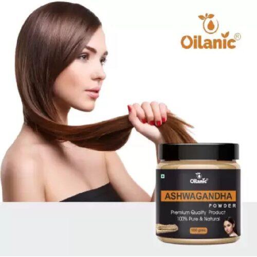Oilanic 100 Pure Natural Ashwagandha Powder For Skin Hair 100gm 2