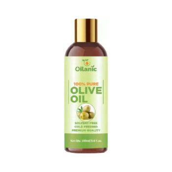 Oilanic 100% Pure & Natural Olive Oil( 100 ml) Hair Oil (100 ml)