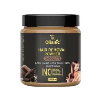 Oilanic Chocolate Hair Removal Powder 100gm Wax (100 g)