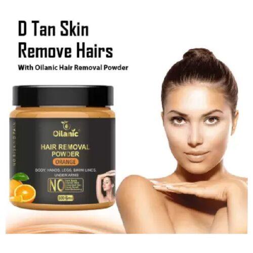 Oilanic Orange Hair Removal Powder 100gm Wax 100 g 1