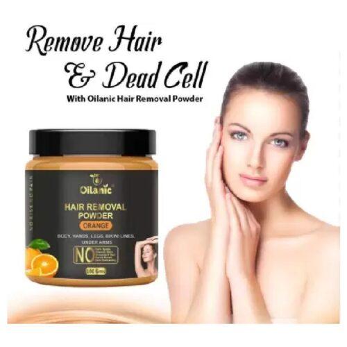 Oilanic Orange Hair Removal Powder 100gm Wax 100 g 3