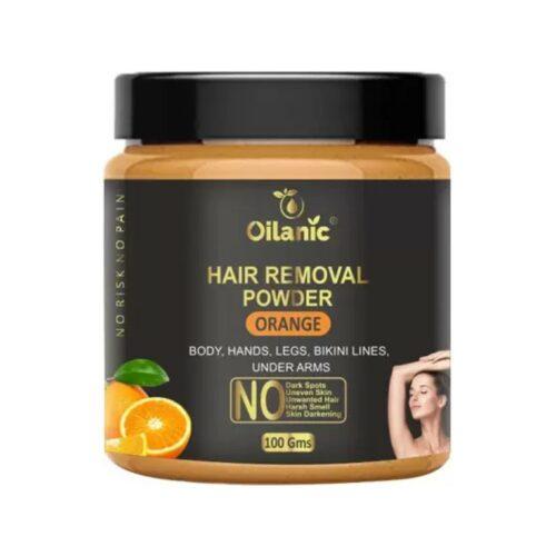 Oilanic Orange Hair Removal Powder 100gm Wax (100 g)