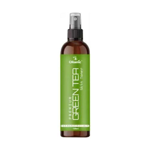 Oilanic Premium Green Tea Face Toner For Men & Women (100 ml) Men & Women