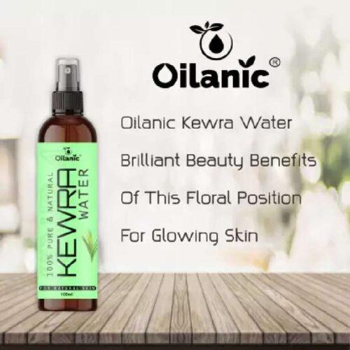 Oilanic Premium Kewra Water For Men Women 100 ml Men Women 4