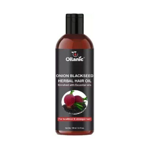 Oilanic Premium Onion Blackseed Herbal Hair Oil For Hair Growth 100 ml Hair Oil 1
