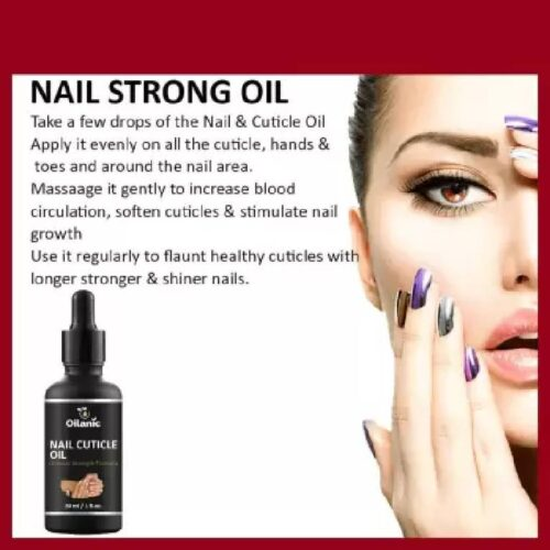 Oilanic Premium Pure Natural Nail and Cuticle Oil 30 ml Clear 2