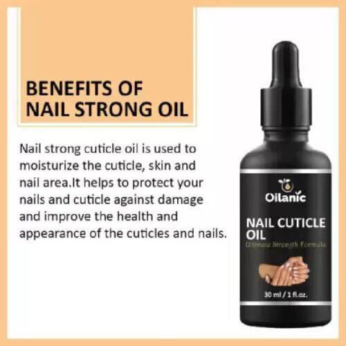 Oilanic Premium Pure Natural Nail and Cuticle Oil 30 ml Clear 3