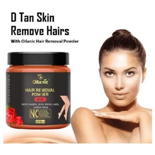 Oilanic Rose Hair Removal Powder 100gm Wax 100 g 1