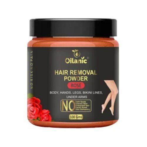 Oilanic Rose Hair Removal Powder 100gm Wax (100 g)