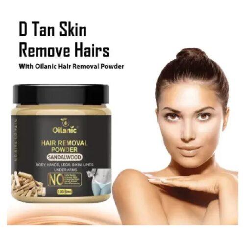 Oilanic Sandalwood Hair Removal Powder 100gm Wax 100 g 1