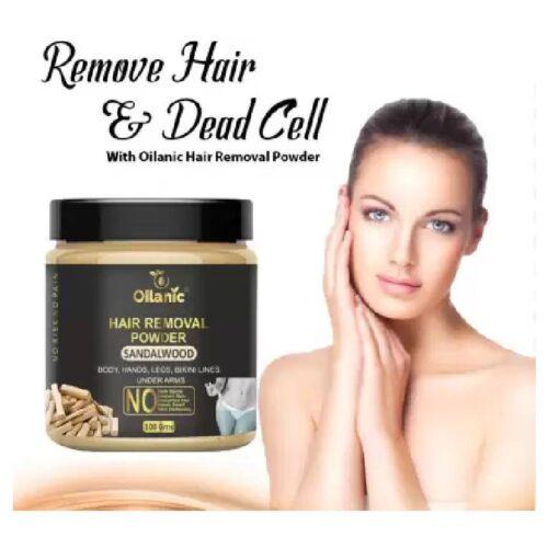 Oilanic Sandalwood Hair Removal Powder 100gm Wax 100 g 3