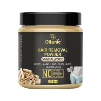 Oilanic Sandalwood Hair Removal Powder 100gm Wax (100 g)