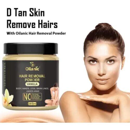 Oilanic Vanilla Hair Removal Powder 100gm Wax 100 g 1