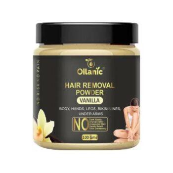 Oilanic Vanilla Hair Removal Powder 100gm Wax (100 g)