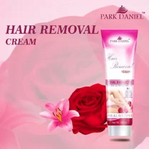 Park Daniel Hair Removal Cream For Underarms Hand Legs Bikini Line Three in one Use Ideal For Men Women Cream 100 g 5