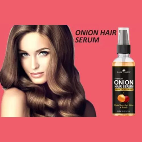 Park Daniel Premium Onion Hair Serum With Vitamin E and Onion Extract-For Silky & Smooth Hair (100 ml)