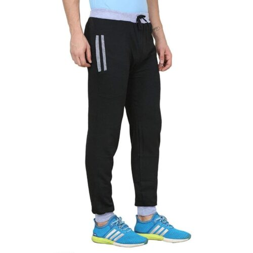 Poly Cotton Solid Track Pant for Men 16