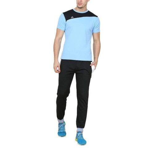 Poly Cotton Solid Track Pant for Men 2