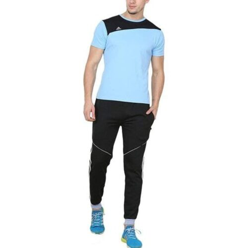 Poly Cotton Solid Track Pant for Men 8