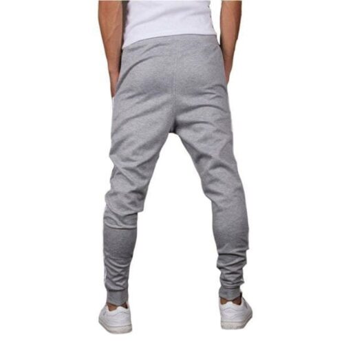 Poly Knit Solid With Side Tape Regular Fit Track Pant 9