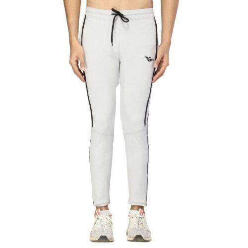 Poly Lycra Color Block Slim Fit Track Pant for Men