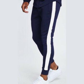 Polyester Blend Solid Slim Fit Track Pant