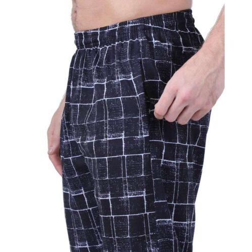 Polyester Blend Camouflage Print Slim Fit Track Pant for Men 5