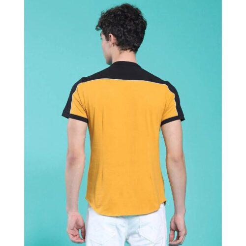 Popcorn Yellow Single Jersey Shirt