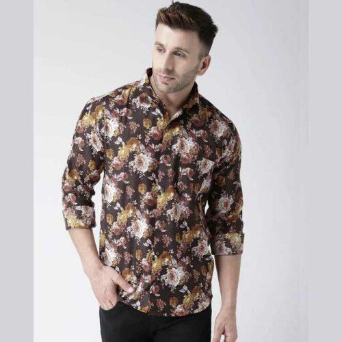 Printed Casual Daily Wear Shirt