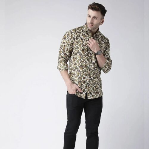 Printed Casual Daily Wear Shirt for Men 6
