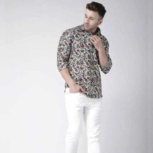 Printed Casual Daily Wear Shirt for Men 9