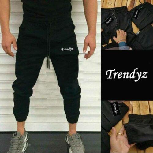 Solid Lycra Track Pant for Men