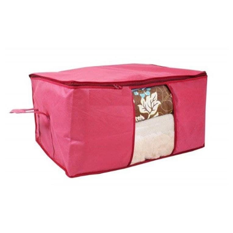 Storage Organizer Underbed Storage Bag Blanket Cover with Side Handles Set of 6 4