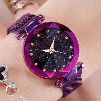 Trendy Designer Metal Watch for Women