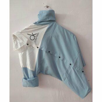 Trendy Stretchable Cotton Lycra Shirt for Men