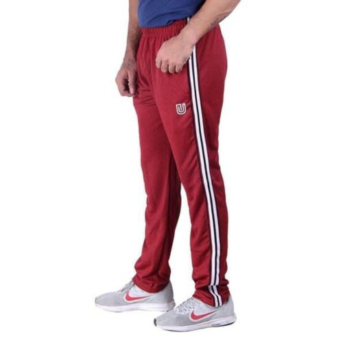 Uncommon Micro Polyester Blend Side Stripes Slim Fit Track Pant for Men
