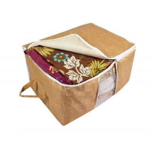 Storage Organizer, Underbed Storage Bag, Blanket Cover with Side Handles (Set of 6) (Copy)