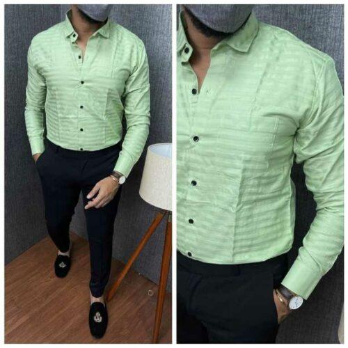Urban Mens Stylish Cotton Shirt 1