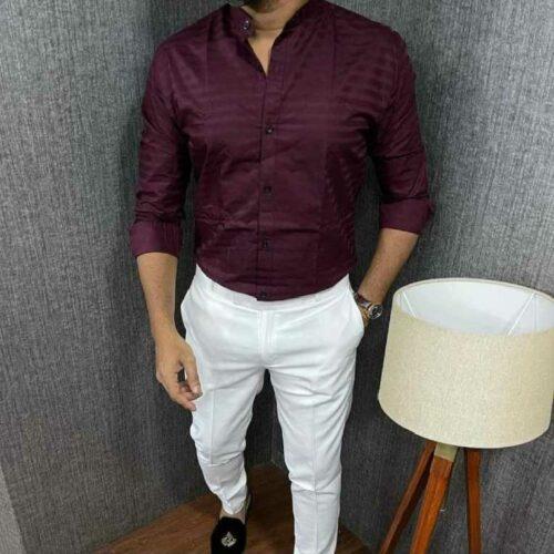 Urban Men's Stylish Cotton Shirt