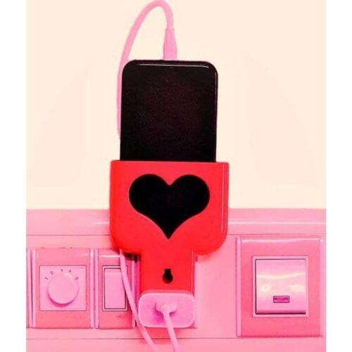 Wall Plug Mobile Charging Holder