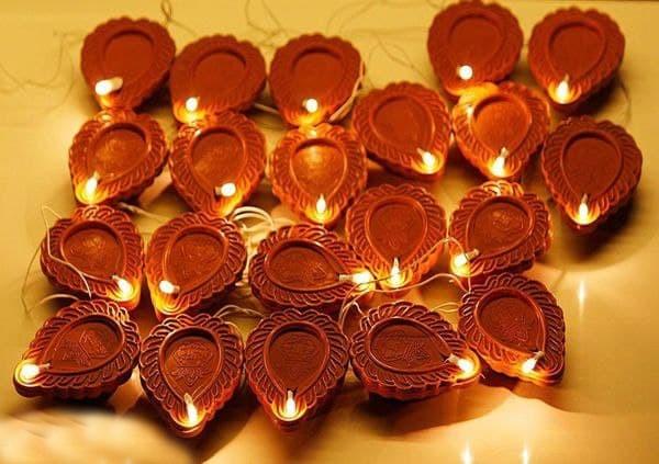 21 LED Diya String Light