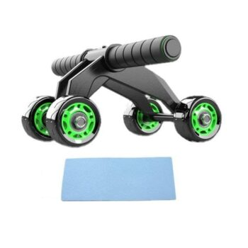 AB Wheel Roller- 4 Wheel AB Roller with Knee Protection Pad