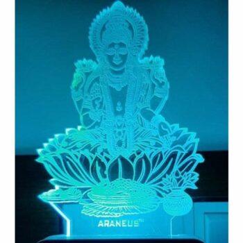 Laxmi Mata LED 3D Illusion Night Lamp