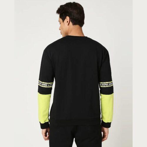 Arcade Green Contrast Sweatshirt
