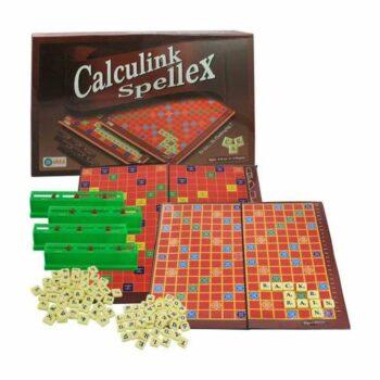 Calcunik Spellex Word Game - Kids Board Game