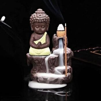 Colorful Baby Monk Smoke Fountain With 5 Smoke Cones