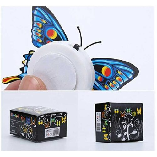 Cute Butterflies Multicolor LED Flashing Light for Fridge Night use in Bedroom Walls Light Up Night Light in The Dark Butterflies 3