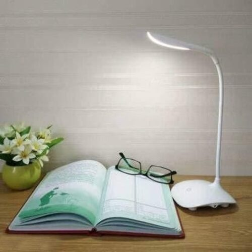 Decorative Desk Lamp, Study lamp Rechargeable Led Touch On Off Switch Student Study Reading Dimmer Led Table Lamps White Desk Light