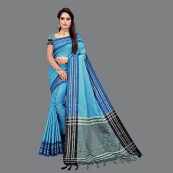 Delicate Woven Cotton Silk Pattu Saree